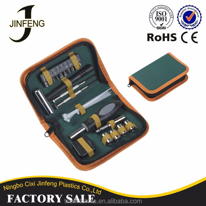 Cixi Leading Factory High Quality ISO CE Approved Zipper Tool Kit Type Promotional Tool items