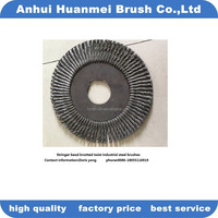 Twisted Knot Steel Wire Circular Brushes