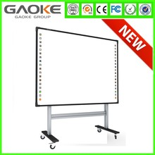 digital white board for classroom GK-880H drawing active whiteboard CE ROHS FCC smart classroom writing board