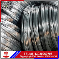 Hot Sale Cut Black Iron Wire/ low price electro galvanized iron wire/copper coated iron wire