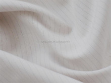 100% Polyester material brushed conductive line twill peach skin fabric