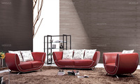 Factory price leather sofa futon couch