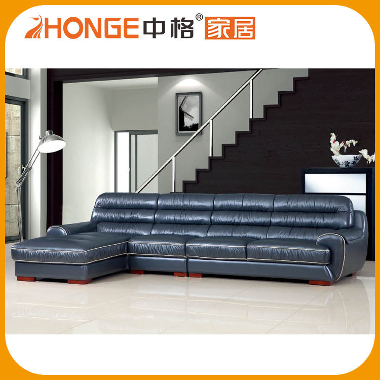 Living Room Furniture Hot Sale Buffalo Made In China Leather Sofa