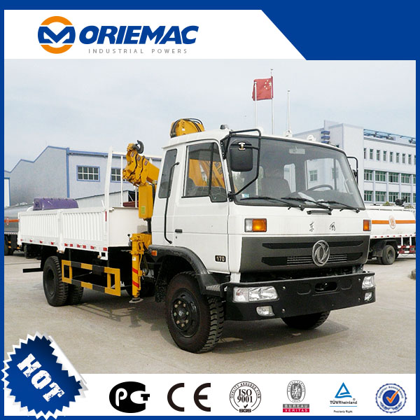 SQ5ZK2Q/SQ5ZK3Q XCMG 5 Tons Truck Mounted Mobile Crane