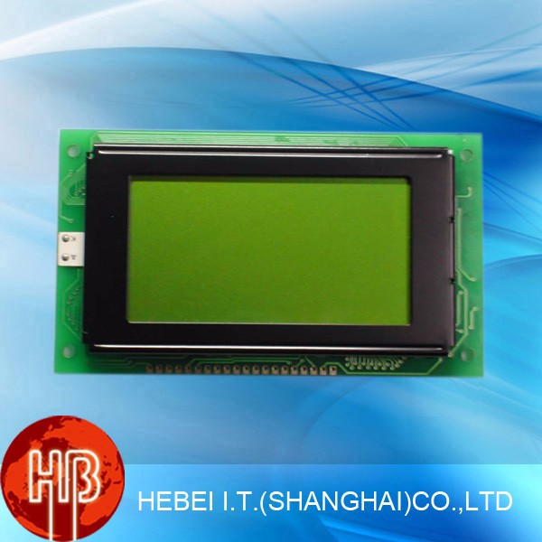 STN Type Graphic LCD Module 128x64 With Blue Backlight