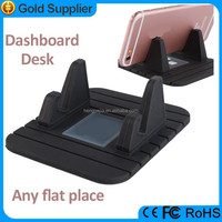 2016 easy use silicone material pad dashboard hand mobile phone holder