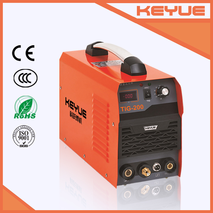 Best quality dual functions TIG/MMA portable ws-200 inverter welding machine