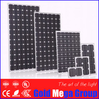 15 years warranty12v 100w pv price monocrystalline silicon solar panel manufacturers in china