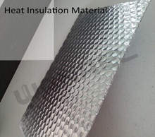 Factory Supply Double-side Aluminum Heat Reflective Foil Insulation Sheet