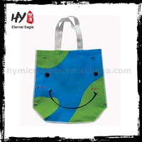 Wholesale recycle durable non woven shopper tote bags