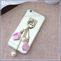 For Apple iPhone 5 6 6S TPU Back Shockproof Clear Transparent Case