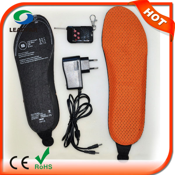 heated insoles for hunting boots cheap insole foot warmer wool insole for woman winter boot