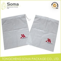 Competitive price new style thick transparent plastic drawstring bag