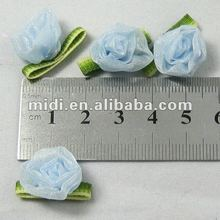 Blue Rose design gift package bow