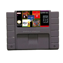 Hot Sell SNES Grey Game Catridge for SNES Super Nintendo Entertainment System Super Mario SNES games