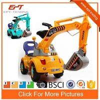 baby ride on car kids ride on toy excavator for sale