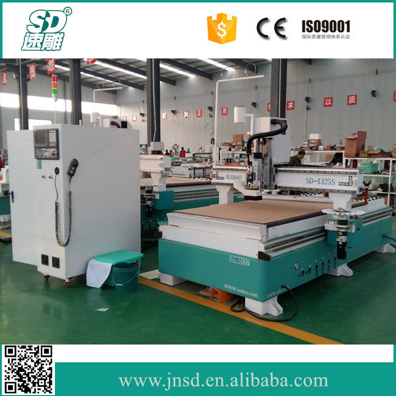Sudiao SD-1325S ATC CNC Router for Wood Door Making