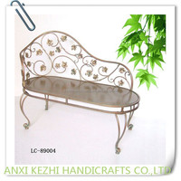 iron leaf royal king chair