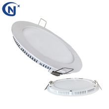 ultra slim round/square panel downlight 4w 12w 18w 25w recessed led downlight