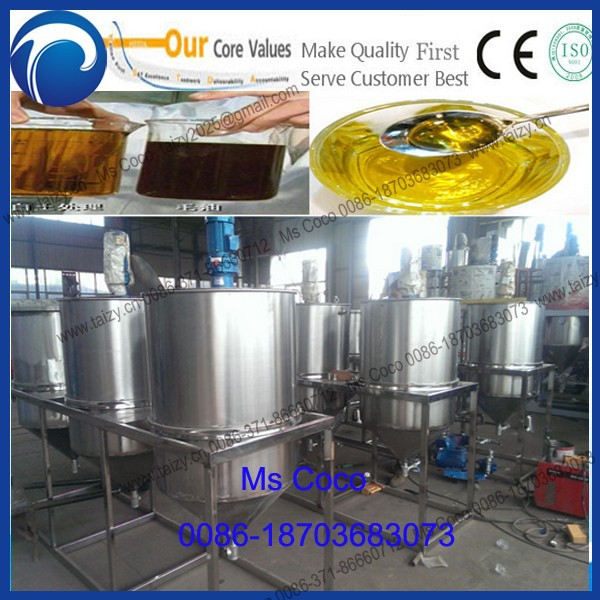 best quality machine to refine cotton oil/ palm oil/ used oil machine