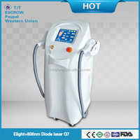 med 808 diode e-light+ipl+rf for hair removal
