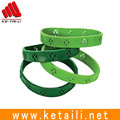 Cheap price custom OEM design super thin silicone rubber power band bracelet bangle wristband made in China