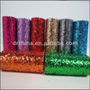 Chunky Glitter Fabric Shoes Material Textiles
