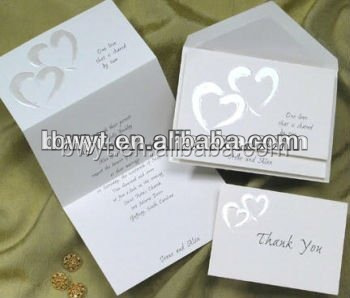Customized Letterpress Wedding Invitation Cards/business cards/greeting cards