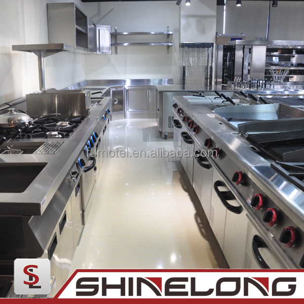 Valued commercial used kitchen equipment by shinelong for Equipement resto