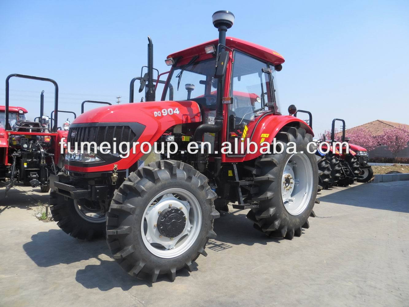 used farm tractors for sale 90hp tractor