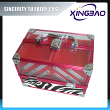 Aluminum new listing rolling cosmetic case