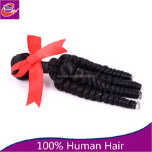 Cheap Fashion Unprocessed 24 Inch 6A Grade 100% Natural Virgin Remy Chilean Human Hair Weft / Extensions Braids