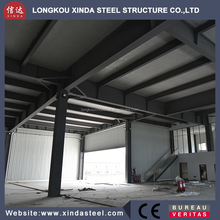 sandwich panel steel structure hotel building