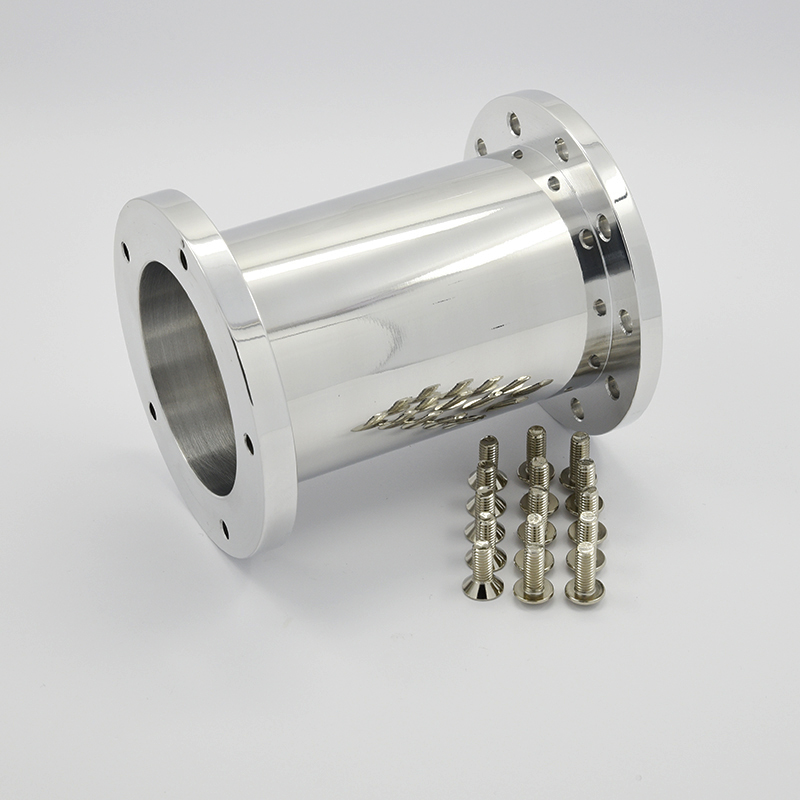 "Aluminum Poished 4.0"" Extension Spacer for 5 bolt Steering Wheel"