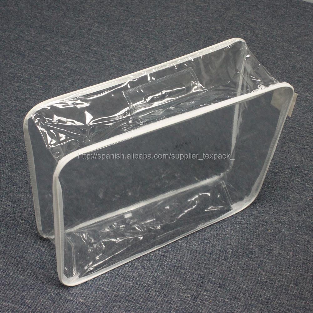 Phthalate Free Clear Plastic Pe Pvc Velvet Duvet Storage