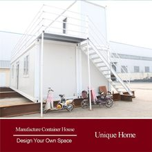 Economical Outdoor fireproof container homes for sale usa with heat insulation prefabicate homes cheap houses for sale