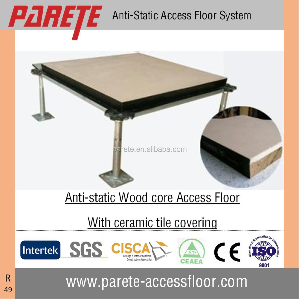 Anti Static Floor System : High performance ceramic finish anti static wood core