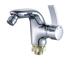 "Ornate Zinc Alloy Basin faucet tap for bathroom with ""one"" word type single handle"