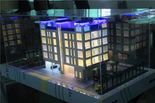 New design real estate model for exhibition , acrylic property model