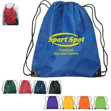 Custom Cheap Polyester Drawstring Bag/Wholesale Drawstring Backpack/Promotional Drawstring Bag