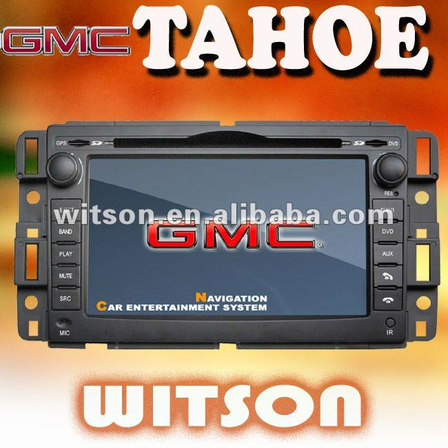 WITSON 3G car stereo for GMC TAHOE with USB port and iPod ready
