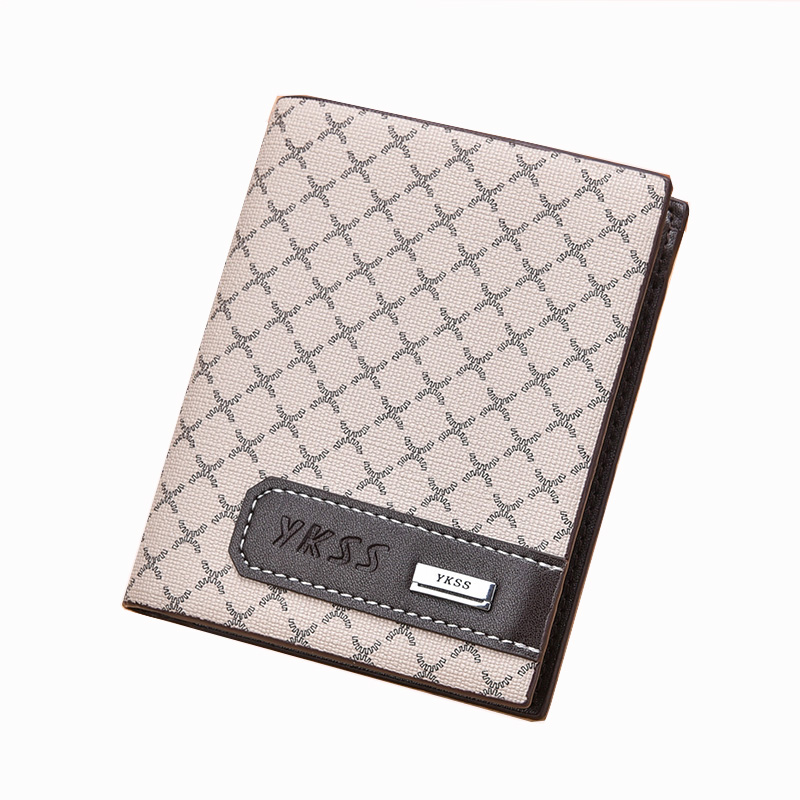 Speed sell through wholesale purses European and American style foreign trade man purse card wallet classic short wallet