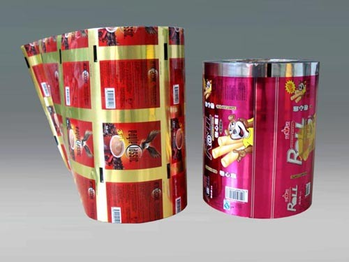 opp/cpp laminating food grade plastic packaging roll film for candy packaging