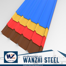 0.5mm galvalume steel corrugated roofing sheet with cheap price