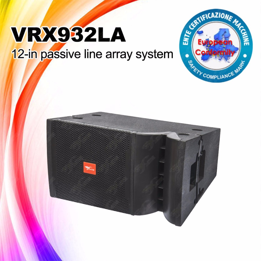 two way 12 inch speaker box touring systems VRX932 PA line array