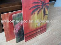 your photos printed on wood wooden painting
