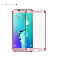 Free Sample 9H full cover 3D Tempered Glass Screen Protector for samsung galaxy s6 edge Phone Accessories