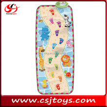 Baby blanket Foot Print Walking learning play mat CSJ03486
