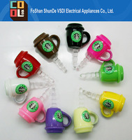 Wholesale Mobile Phone Pluggy Starbucks Cup Earphone Dustproof for Any 3.5mm Phone Ear Cap for iPhone Samsung HTC LG