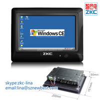 "7"" wireless TFT LCD Touch screen Industrial control Computer with 2*232 Serial Port,1*USB Device , 3*USB,1*Lan Port,1*485"